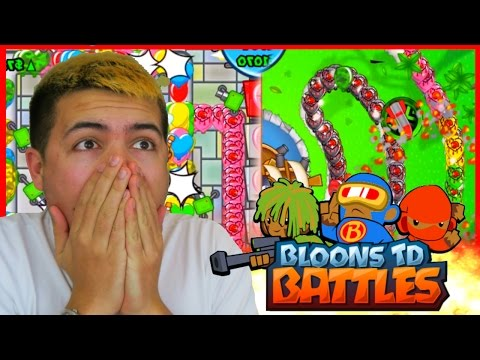 WORLDS MOST ANNOYING ATTACK! - Bloons TD Battles - RANDOM TRIO SPEED STRATEGY!