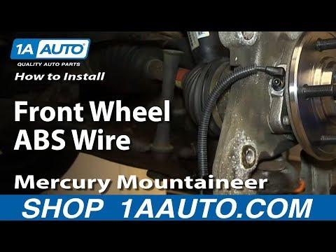 How to Replace ABS Sensor 02-05 Mercury Mountaineer