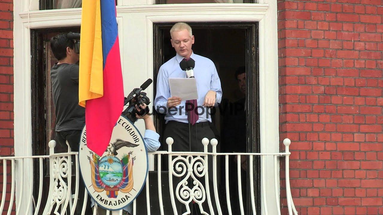 SPEECH - Julian Assange SPEECH - Julian Assange at Ecua