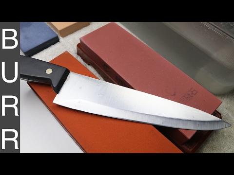 Sharpening The World's Worst Chef Knife by Martha Stewart MSE