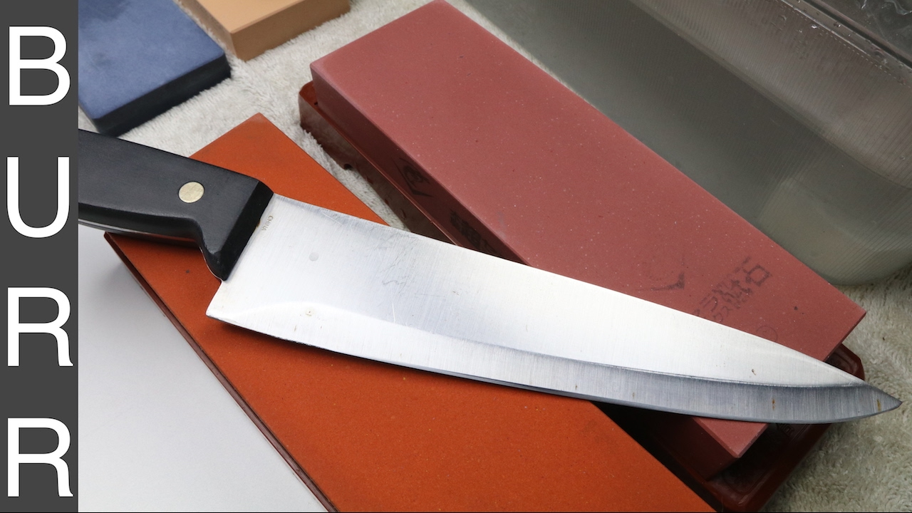 sharpening the world 39 s worst chef knife by martha stewart mse youtube. Black Bedroom Furniture Sets. Home Design Ideas