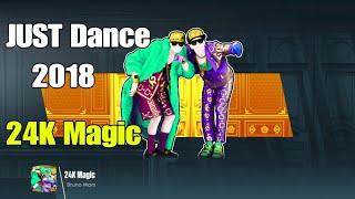 Just Dance 2018 - 24K Magic - 5 Stars ( Mega stars ) 4 players