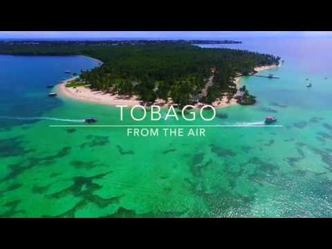 Tobago from the air 2018