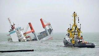 Σύγκρουση φορτηγού πλοίου με τάνκερ στα ανοιχτά του Βελγίου