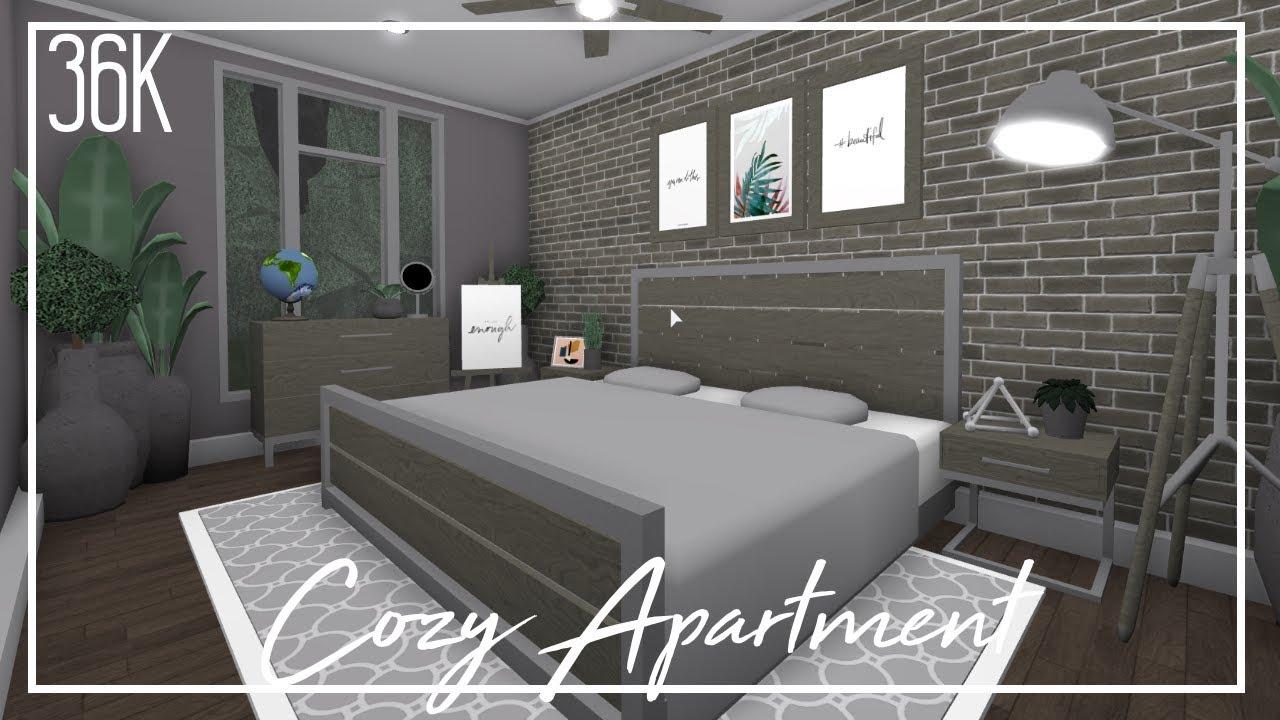 Roblox Welcome To Bloxburg Cozy Apartment Youtube
