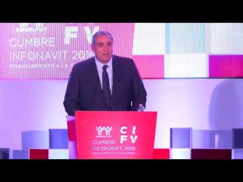 El Economista Español Xavier Sala-i-Martin en Cumbre Infonavit 2016