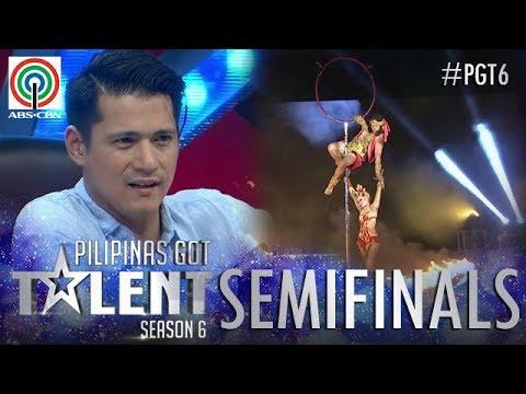 Pilipinas Got Talent 2018 Semifinals Dancing Fire Warriors - Fire Dance