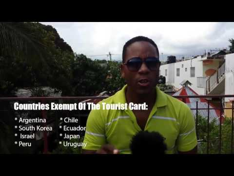 Tourist Card - Dominican Republic Vacation Tips - Raul´s Travel