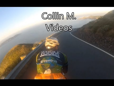 (Cat 4 Road Bicycle Race # 7 Full Front View) GoPro Bike Racing  (Cycling Trainer / Rollers)
