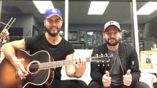 Dan + Shay Yours If You Want It Rascal Flatts Cover