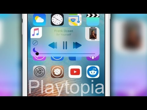 'Playtopia' brings a beautiful music widget to iOS!
