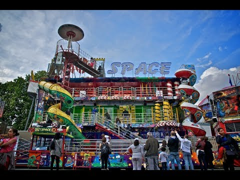 Crazy Space Walktrough Fun House Fairground Paris  XTREMERIDES