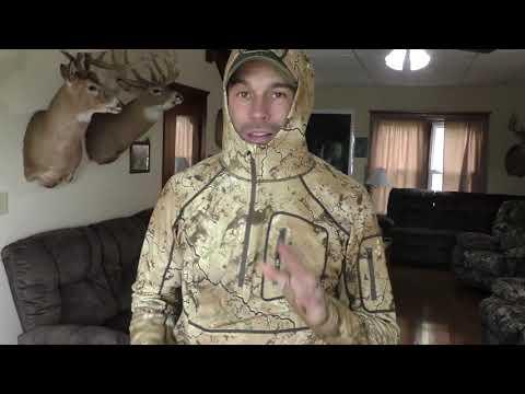 New Merino Wool Hoodie Designed For Deer Hunters