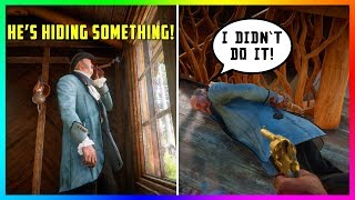 The Mayor Of Strawberry Has A DARK & CREEPY Secret You Don't Know About In Red Dead Redemption 2!
