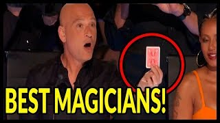 """Top 5 """"UNBELIAVABLE SHOCKING MAGICIANS"""" Will Blow Your Mind on WORLD GOT TALENT 2016 - 2018!"""