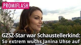 GZSZ-Star war Schaustellerkind: So extrem wuchs Janina Uhse auf