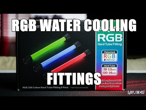 Thermaltake Pacific RGB Fittings - Full Overview