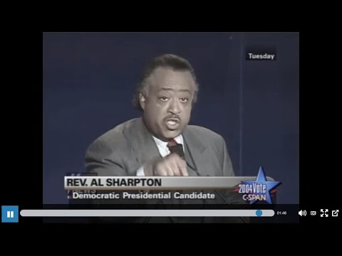 Al Sharpton THUGGERY From 2004