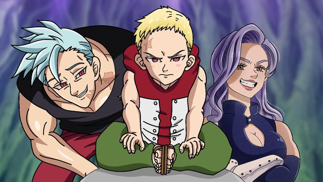 NANATSU NO TAIZAI / CAPITULO ESPECIAL O FILHO DE BAN / REVIEW COLORIDO E ANIMADO/ Anime Underground