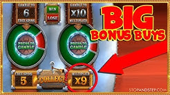 Buying BIG BONUSES on Megaways Slots, up to £400!! - Online Casino Session
