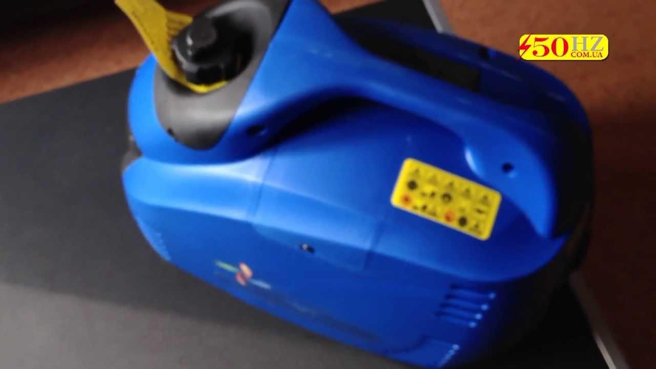 Обзор и проверка бензинового генератора Forte 1250 - YouTube