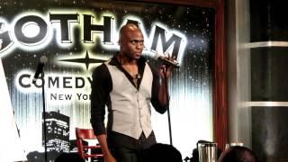 wayne brady improv at the gotham comedy club in nyc on 4 20 12