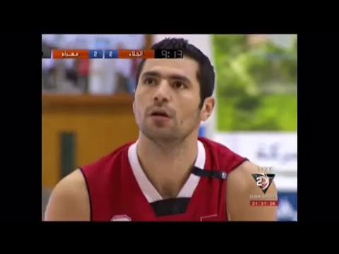 Jalaa (Syria) vs mahram (Iran) . Dubai international tournament michel Madanly sari papazian basket