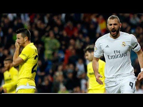 Real Madrid 3-0 Villarreal   Goles   COPE   20/04/2016