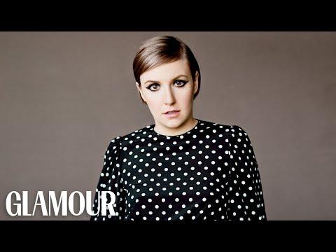 Watch Lena Dunham Deconstruct Her Tweets – Glamour Magazine Cover Shoot