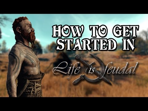 Life is Feudal | How to get started - Rushed version | Skills, Tools and Locations