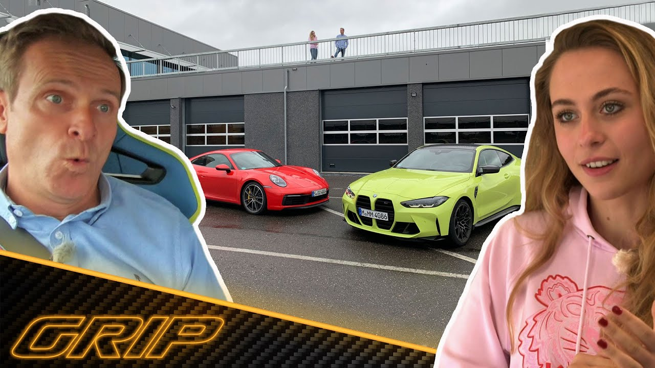 BMW M4 Competition vs. Porsche 911 Carrera S mit Sophia Flörsch