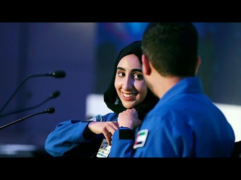 Nora al-Matrooshi, the first Arab woman training to be an astronaut