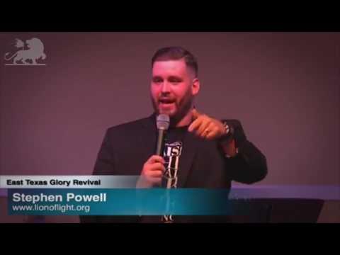 "Stephen Powell - ""Fresh Baptism of Dunamis Power"""