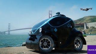 Meet O-R3 – the world's first robotic security car