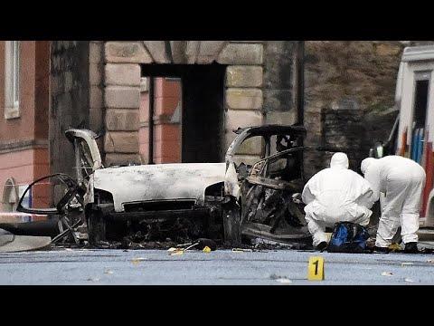 Irlanda do Norte: Polícia detém dois homens após atentado