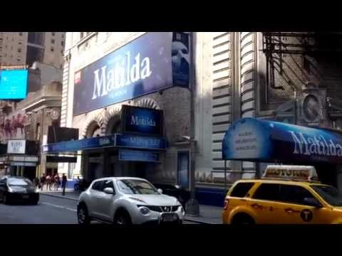 Shubert Theater Currently Playing Matilda The Musical on Broadway, New York City, New York