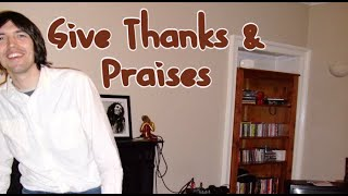 David William - Give Thanks and Praises (Bob Marley Acoustic Cover - 25th Sep 2010)