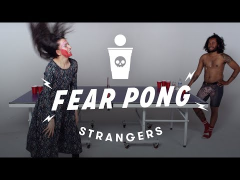Thumbnail: Strangers Play Fear Pong - Gagan vs Jamal