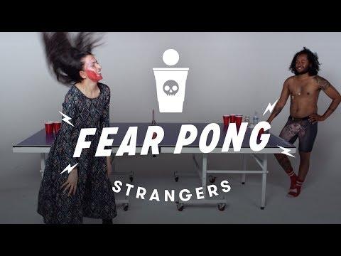 Strangers Play Fear Pong (Gagan vs Jamal)   Fear Pong   Cut