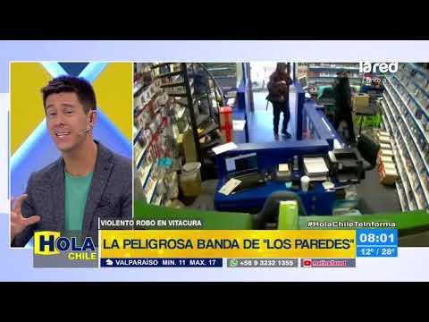 """""""Los Paredes"""": detienen a banda delictual por violento asalto en local de videojuegos"""