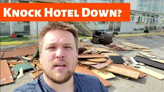 Hotel Remodeling Show: Choices and why our  Hotel Remodeling show could end. s2.e1