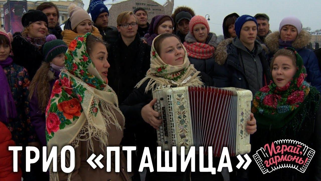 Играй, гармонь! | Трио «Пташица» (г. Санкт-Петербург) | Горькая весна