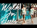 HOW TO WALK IN HIGH HEELS | Step By Step | TRICKS To Make Heels More Comfortable!