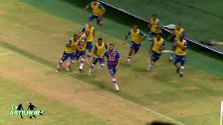 [Série C '17] Fortaleza 1 X 0 Sampaio Corrêa | Melhores Momentos | Narr.: Cesar Luis | TV ARTILHEIRO