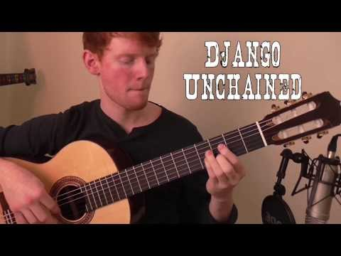 (M) Django Unchained Theme: The Braying Mule - Ennio Morricone (For Guitar) HD