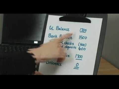 Become an Accountant : How to Reconcile a Bank Balance