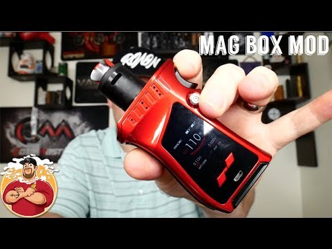SMOK Mag Kit 225w Review | Affordable {Magazine style} Box Mod!