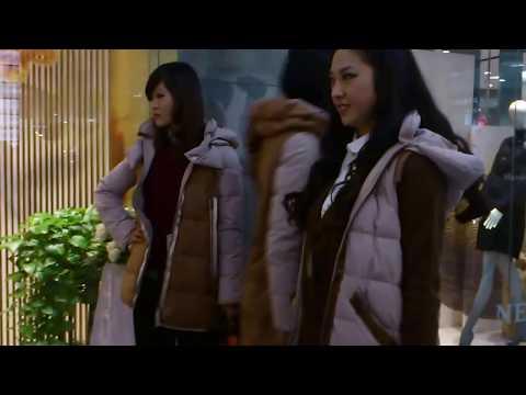 Chinese fashion models@Xinyang,China in 2012/11/10