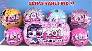 LOL Surprise Dolls Bling Glam Glitter Series 1 3 4 Under Wraps LIL Sisters Unboxing TOYS Eye Spy