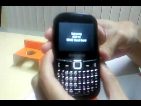 Samsung CORBY TXT - Unbox